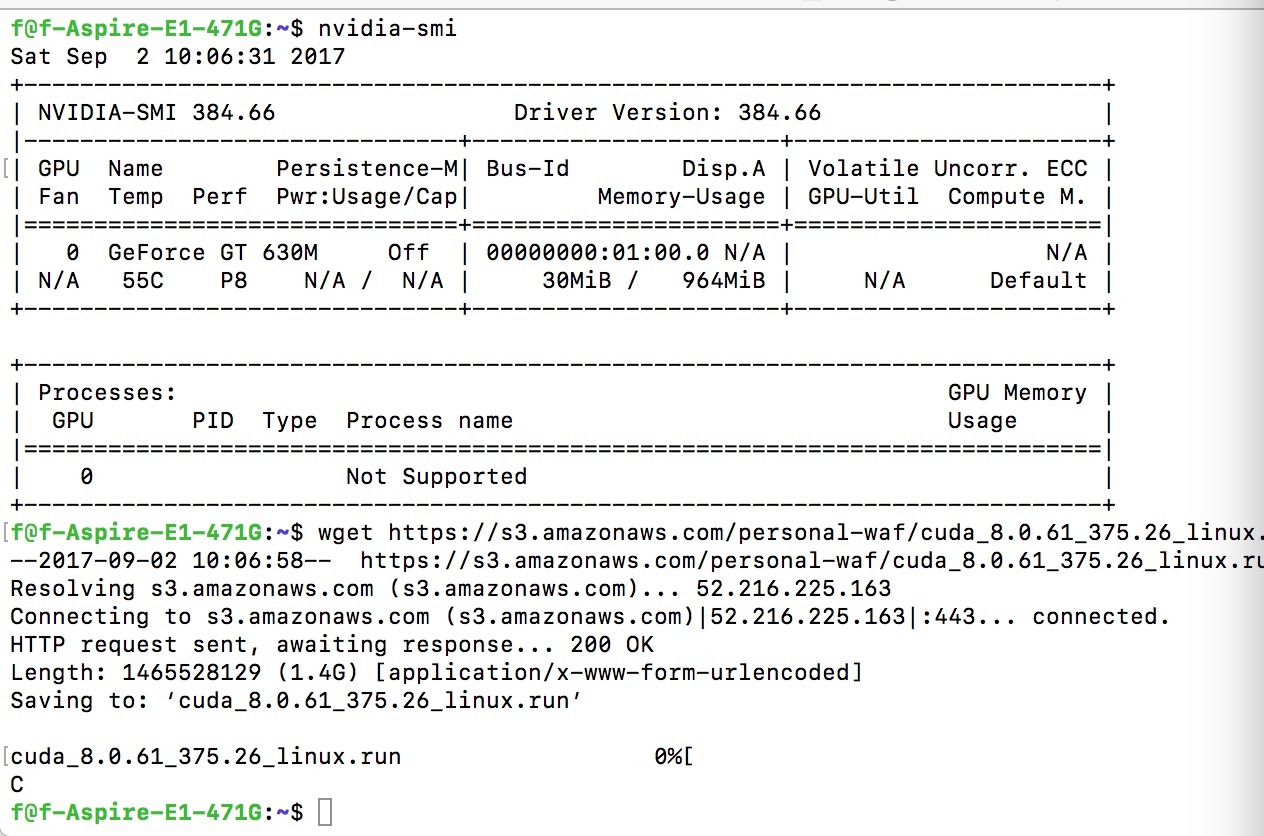 ubuntu 16.04 安装 tensorflow-gpu 包括 CUDA ,CUDNN,CONDA