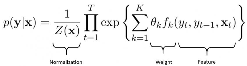 使用条件随机场模型解决文本分类问题(附Python代码)